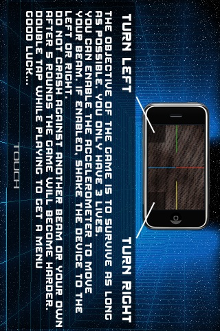 Screenshot LightFlux