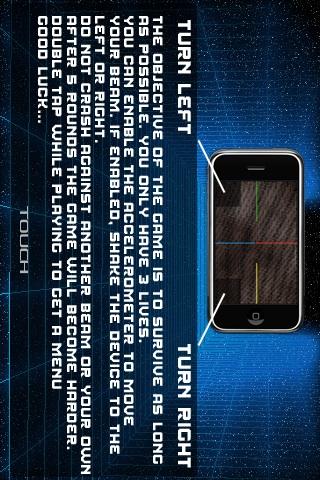 Screenshot LightFlux