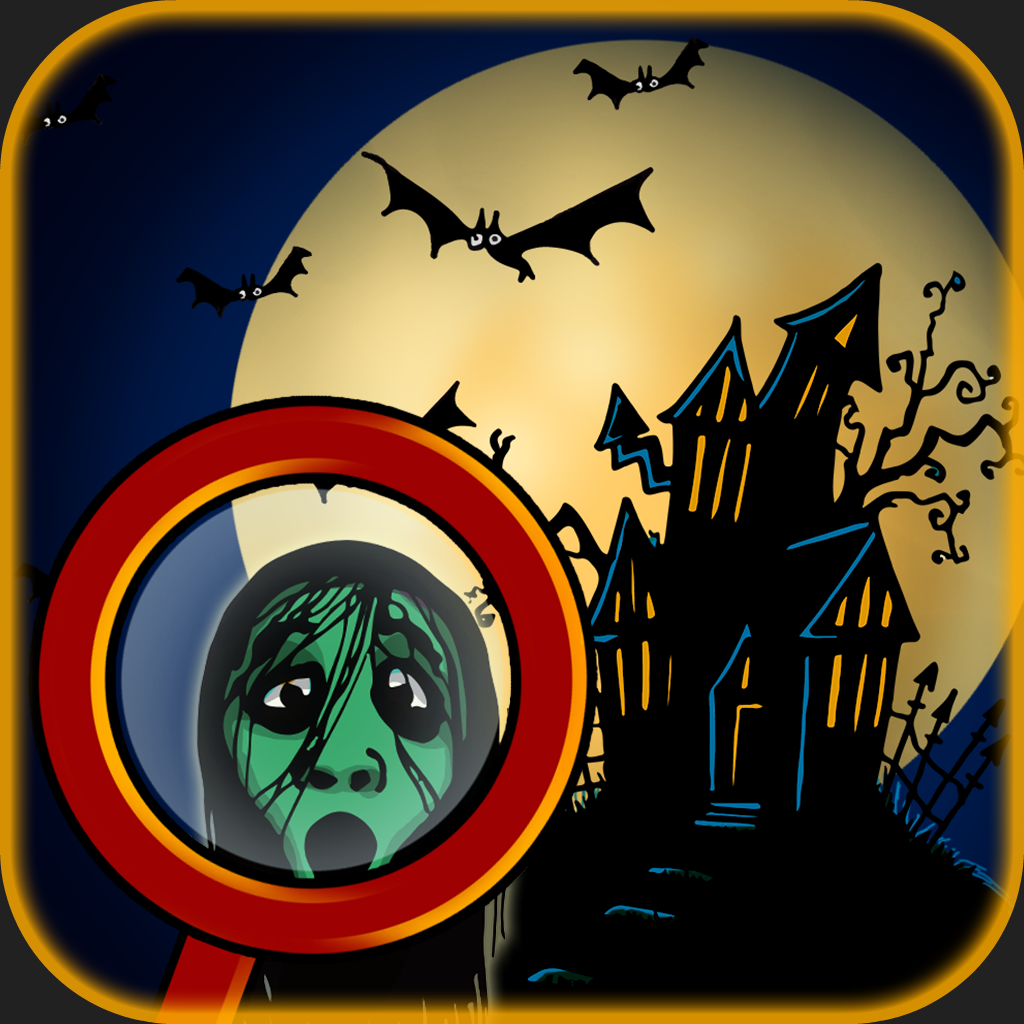 A Mystery Hidden Objects Hunt - Time to find the secrets on a halloween eve